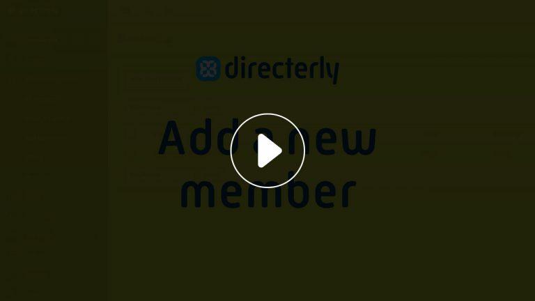 Add a new member video lightbox