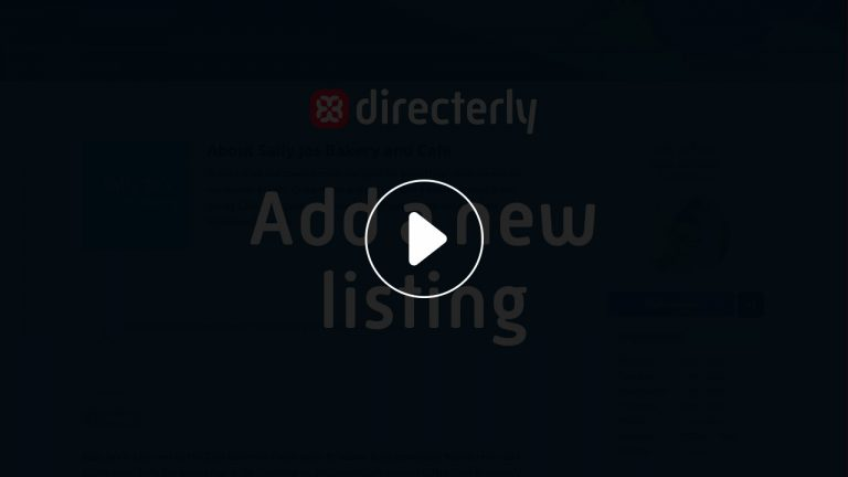 Add a new listing video lightbox