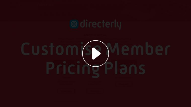 Customise directerly plans Video Lightbox
